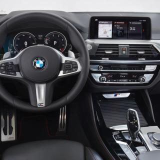 bmw x4 interior autocar pictures - small
