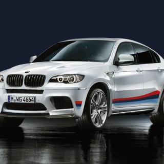 Download Wallpaper White Bmw X6 M E71 Section - small