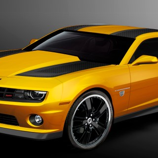 Chevrolet camaro bumblebee the buzz is back features - small