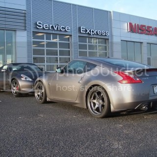 40th anniversary graphite versus platinum 2010 nissan 370z edition
