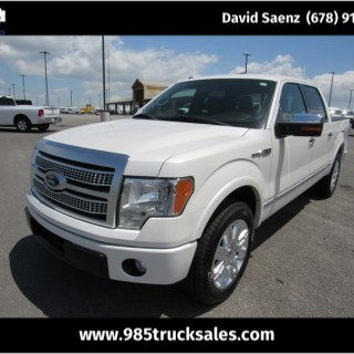 2012 ford f 150 platinum - small