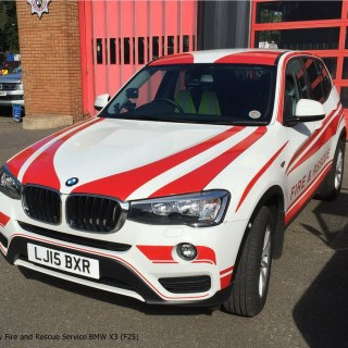 Surrey Fire And Rescue Service Bmw X3 F25 An Photo