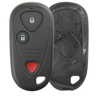 Hqrp 2 Pack Flip Key Fob Keyless Entry Replacement For