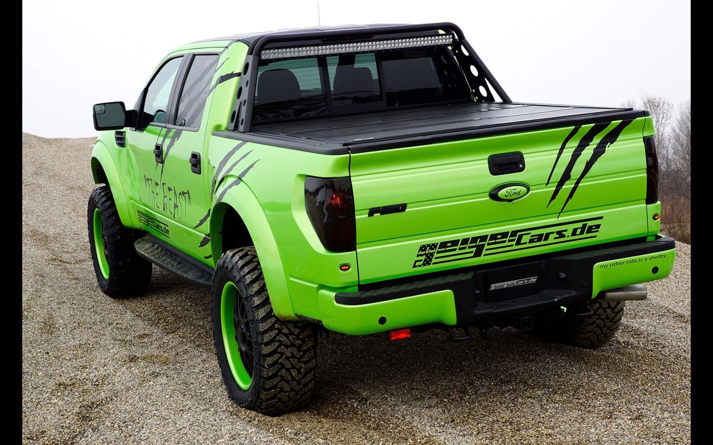 Ford Raptor 2014 Geigercars F 150 Svt Special Edition - small