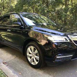 Pre owned 2016 acura mdx w advance - small