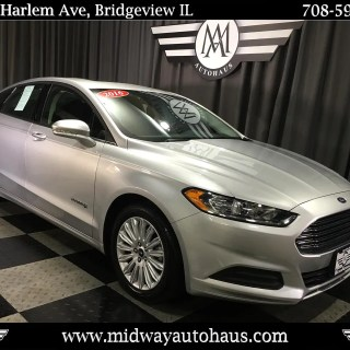 Pre owned 2016 ford fusion 4dr sdn se hybrid fwd sedan photo of a - small