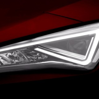 all new seat leon teased with light show car magazine