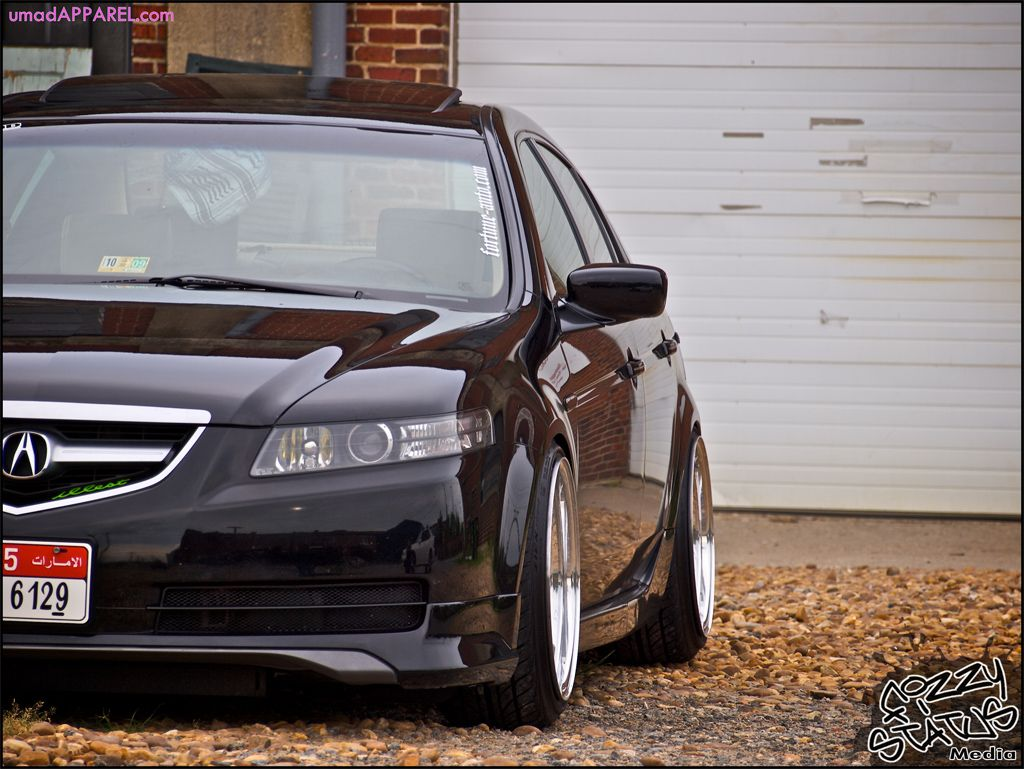Acura tl with a spec kit and 2 5 drop on tein coilovers tsx transmission - small