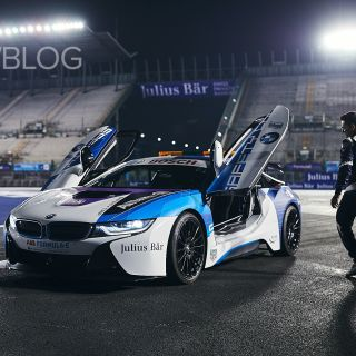 exclusive photos of the refreshed bmw i8 safety car features