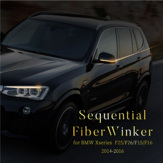 flowing blinker sequential bmw x3 f25 x4 f26 x5 f15 x6 f16 sideview mirror 60045 which flows through the smoked lens pure photo