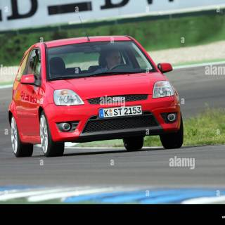 Car ford fiesta st small approx red model year 2005 photo - small