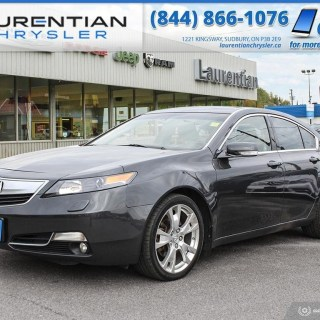 Used 2012 Acura Tl For Sale At Laurentian Chrysler Dodge Incentives - small