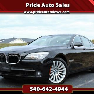 used 2011 bmw 7 series 750li xdrive for sale in photos