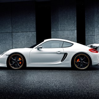 techart porsche cayman shows off with new rear spoiler ii 2014 - small