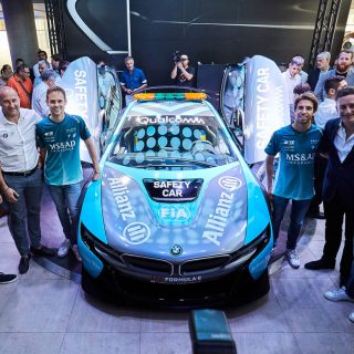 next generation bmw i8 formula e safety car debuts features