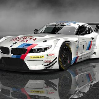Hd Bmw Z4 Gt3 4k Background For Computer Wallpaper - small