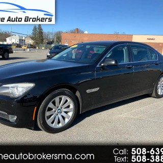 used 2011 bmw 7 series 4dr sdn 750i xdrive awd for sale in photos
