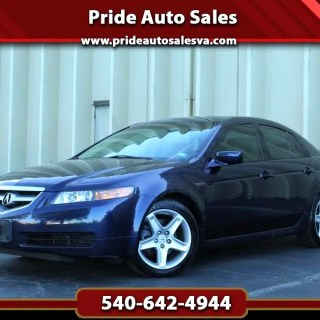Used 2006 acura tl 5 speed at for sale in fredericksburg va - small
