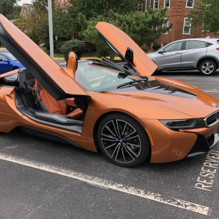 car review driving a plug in hybrid isn t boring with the bmw i8 safety features