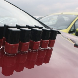 ford fiesta nagellack in hot magenta und wackelbilder zum photo - small