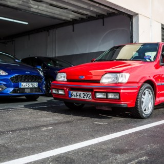 Ford Fiesta Xr2i 16v Vs Ecoboost 140 Hp Was Photo Engine - small