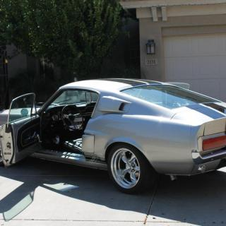 1967 Ford Mustang Fastback Eleanor 428 Big Block Photo - small