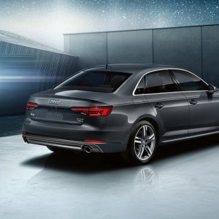 2019 audi a4 back side view hd wallpaper of - small