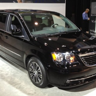 chrysler spiffs up minivans with 2013 town country s photos