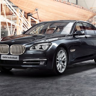 bmw 760li sterling inspired by robbe berking silber 7er 2014 individual