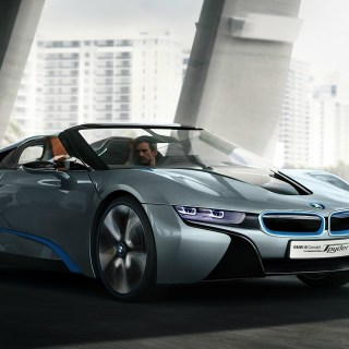 Cars Spyder Bmw I8 Concept 1920x1080 Wallpaper Hd - small