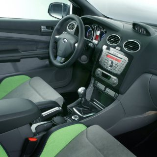 2008 ford focus rs review interior photos - small