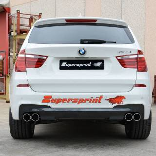 Performance Sport Exhaust For Bmw F25 X3 20d Photo