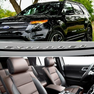 2014 black ford explorer sport pictures mods upgrades wallpaper - small