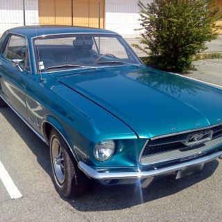 1967 Ford Mustang Rental For Haute Savoie Wedding Photo - small
