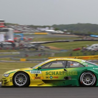 Fastest Time Of The Day For Audi A5 Dtm 2012 - small