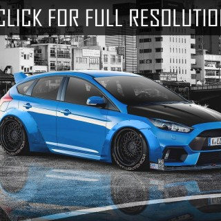 Ford Focus Rs Tuning Amazing Photo Gallery Some Wallpaper - small