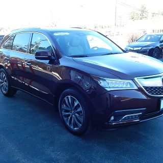 certified pre owned 2015 acura mdx 3 5l technology package sh all wheel drive suv in nashua