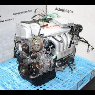 Engines 3559 Jdm Acura Tsx 2003 2008 K24a3 Vtec Dohc Engine 6 Speed Transmission Header Ecu - small